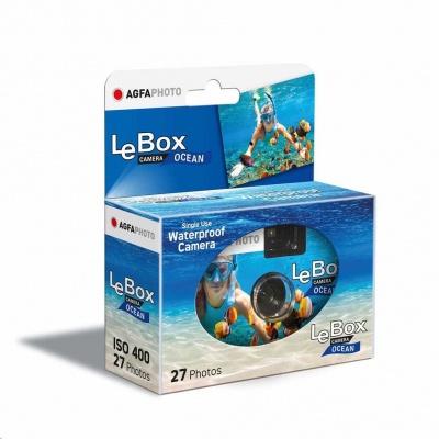 Agfaphoto LeBox Ocean 400/27 - jednorázový analogový fotoaparát