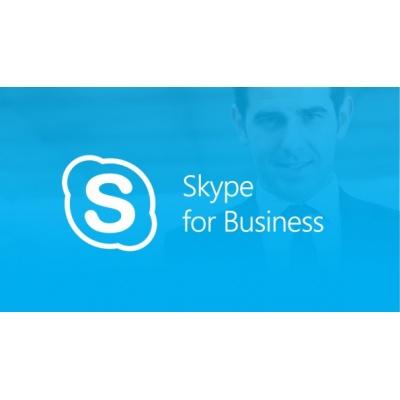 Skype for Business Server Standard CAL LicSAPk OLP NL USER