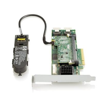 HP Smart Array P410/512M BBWC SAS PCIe x8 LP 8pRAID (0/1/1+0/5/5+0/6)