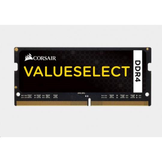 CORSAIR DDR4 4GB (Kit 1x4GB) SODIMM 2133MHz CL15 černá