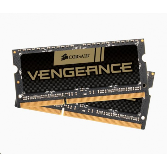 CORSAIR DDR3 8GB (Kit 2x4GB) Vengeance SODIMM 1600MHz CL9, černá