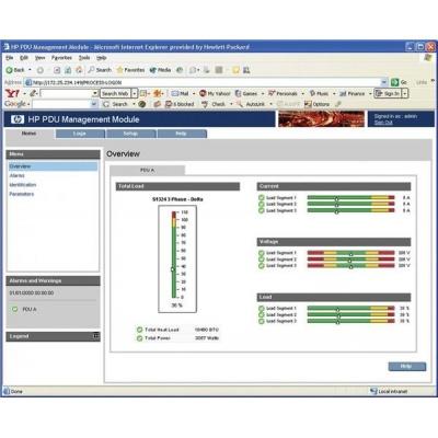 HP PDU Management Module