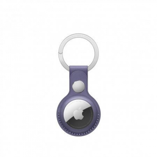 APPLE AirTag Leather Key Ring - Wisteria