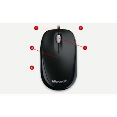 Microsoft myš L2 Compact Optical Mouse 500 Mac/Win EMEA EFR   Black