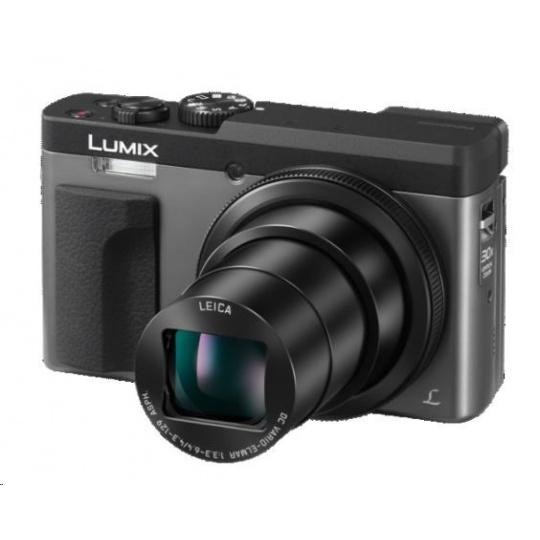 "Panasonic DC-TZ90 silver (20 Mpx MOS, 30x zoom LEICA, 4K, 3"" LCD+LVF, Wi-Fi, RAW)"