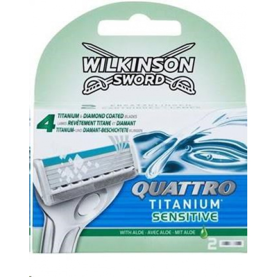 Wilkinson Quattro Titanium náhrady 2ks