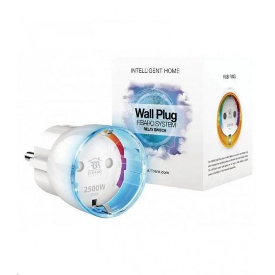 FIBARO Inteligentní zásuvka - FIBARO Wall Plug type F