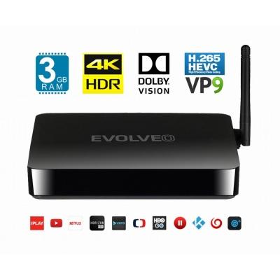 EVOLVEO MultiMedia Box M8, Octa Core multimediální centrum