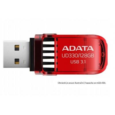 ADATA Flash Disk 128GB USB 3.1 DashDrive™ UD330, červený