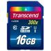 TRANSCEND SDHC karta 16GB Premium, Class 10 UHS-I, 300X (45MB/s)