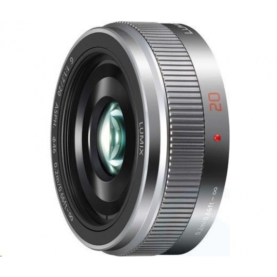 Panasonic LUMIX G 20mm F1,7 II ASPH. silver