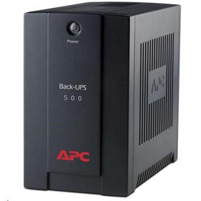 APC Back-UPS 500VA,AVR, IEC 230V (300W)