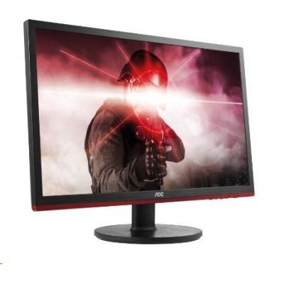 """AOC MT LCD WLED 24"""" G2460VQ6 herní monitor, 1ms, 80M:1, 1920x1080, D-Sub, HDMI, DP"""