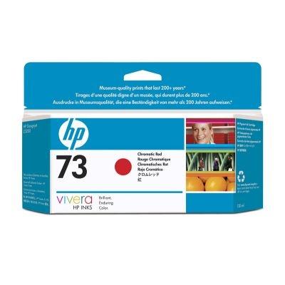 HP 73 Red chromatic DJ Ink Cart, 130 ml, CD951A