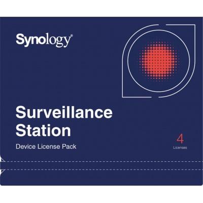 Synology Licenčný balíček pre kamery - 4 kamery