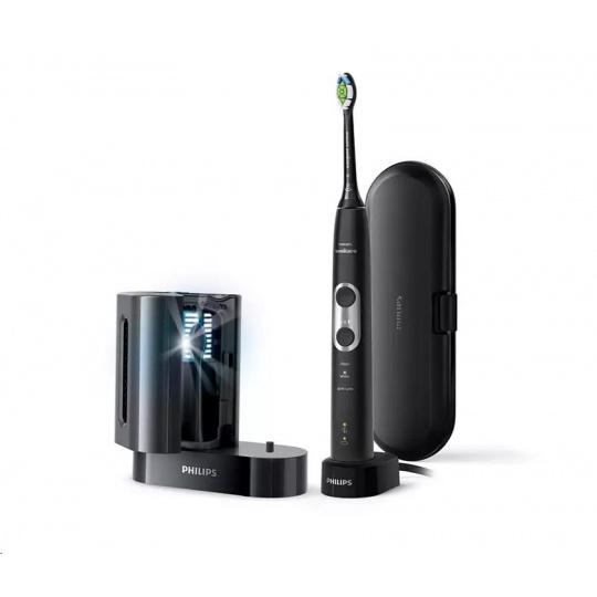 Philips HX6870/57 ProtectiveClean Black with Sanitizer (6100) zubní kartáček