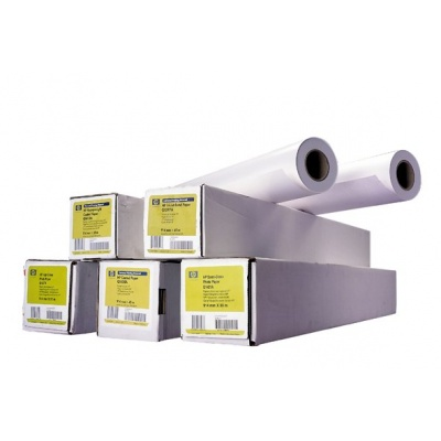 HP Coated Paper-1067 mm x 45.7 m (42 in x 150 ft),  24 lb,  90 g/m2, C6567B