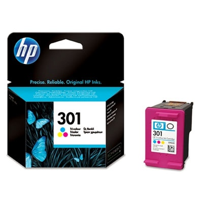 HP 301 Tri-color Ink Cart, 3 ml, CH562EE