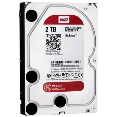 WD RED NAS WD20EFRX 2TB SATA/600 64MB cache