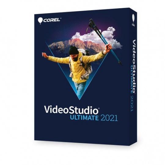 VideoStudio 2021 Ultimate ML EU EN/FR/IT/DE/NL - BOX