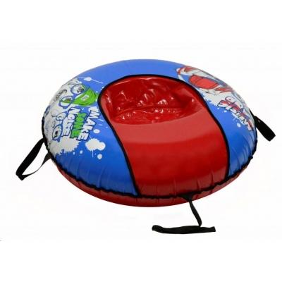 AVT nafukovací sněžný kluzák, průměr 100 cm, nosnost do 100 kg, Music comfort