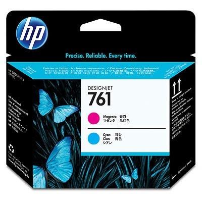 HP 761 Cyan + Magenta DJ Printhead, CH646A