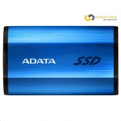 ADATA External SSD 1TB SE800 USB 3.2 Gen2 type C modrá