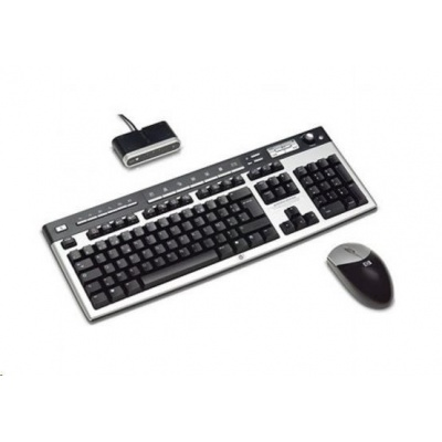 HP USB BFR with PVC Free CZ Keyboard/Mouse Kit