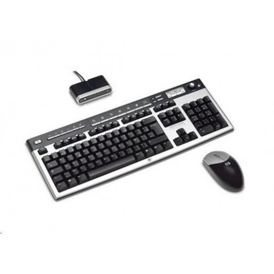 HP USB BFR with PVC Free CZ Keyboard/Mouse Kit