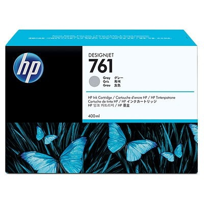 HP 761 Grey DJ Ink Cart, 400 ml, CM995A
