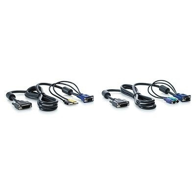 HP PS2 Server Console Cable, 6 foot, 2-Pack