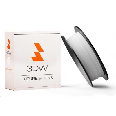 3DW ARMOR - PLA filament, průměr 1,75mm, 500g, bílá, teplota tisku 190-210°C