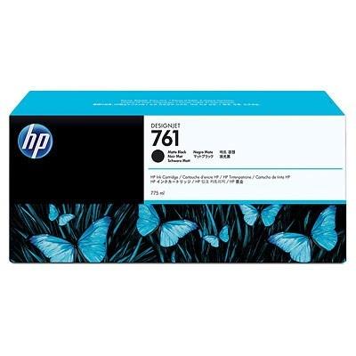 HP 761 Black matte DJ Ink Cart, 775 ml, CM997A