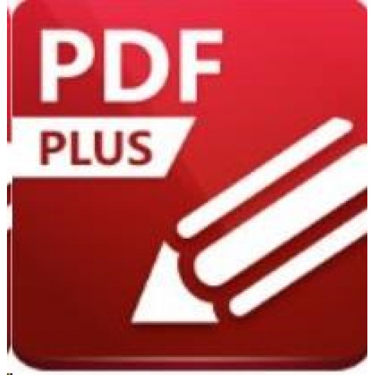 PDF-XChange Editor 9 Plus - 3 uživatelé, 6 PC + Enhanced OCR/M1Y