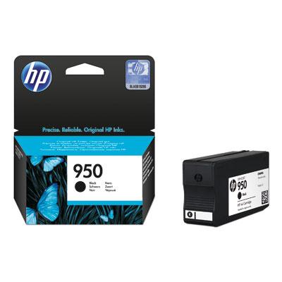HP 950 Black Ink Cart, 24 ml, CN049AE