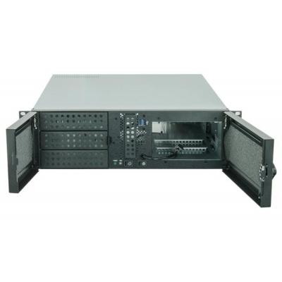 CHIEFTEC skříň Rackmount 3U ATX/mATX, UNC-310A-B, zdroj APS-500SB (500W)