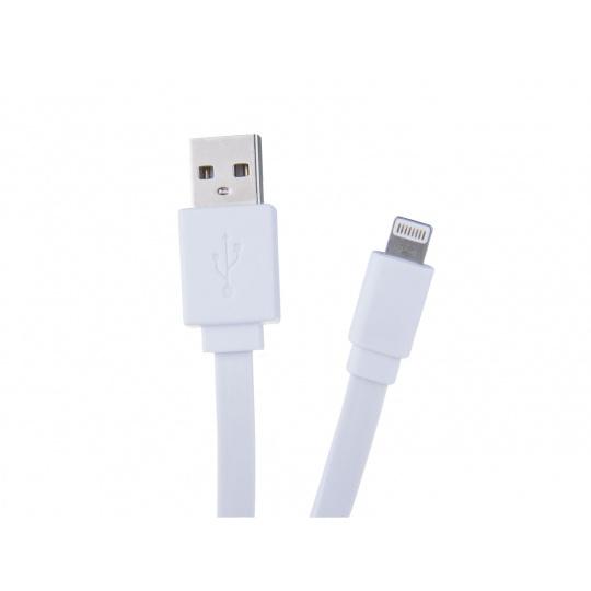 AVACOM LIG-120W kabel USB - Lightning, 40cm, bílá