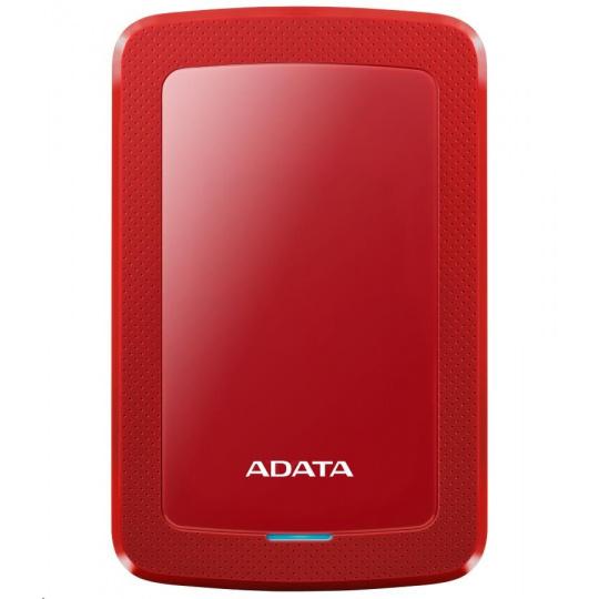 """ADATA Externí HDD 1TB 2,5"""" USB 3.1 HV300, červený"""