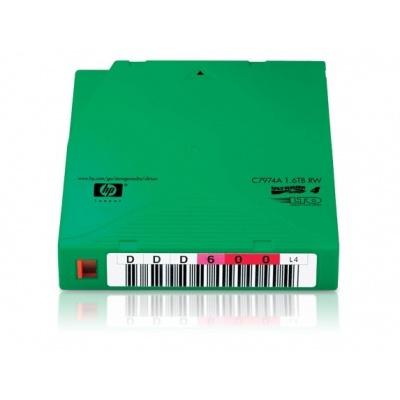 HP LTO-4 Ultrium 1,6 TB RW Custom Label, 20-pack, C7974AL
