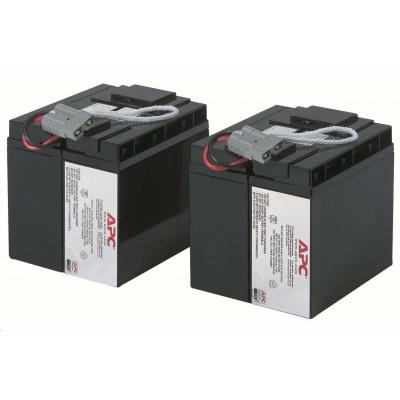 APC Replacement Battery Cartridge #55, SUA2200I, SUA3000I, SMT2200I, SMT3000I, SUA2200XLI, SUA3000XLI, SUA48XLBP, SUA500