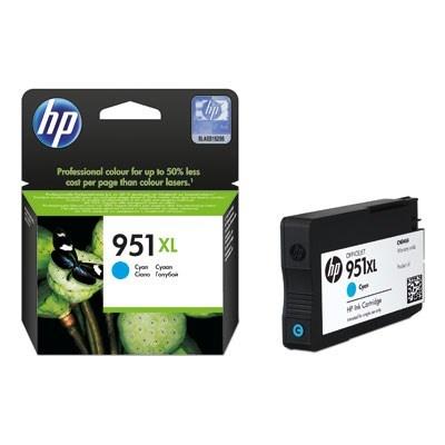 HP 951XL Cyan Ink Cart, 24 ml, CN046AE