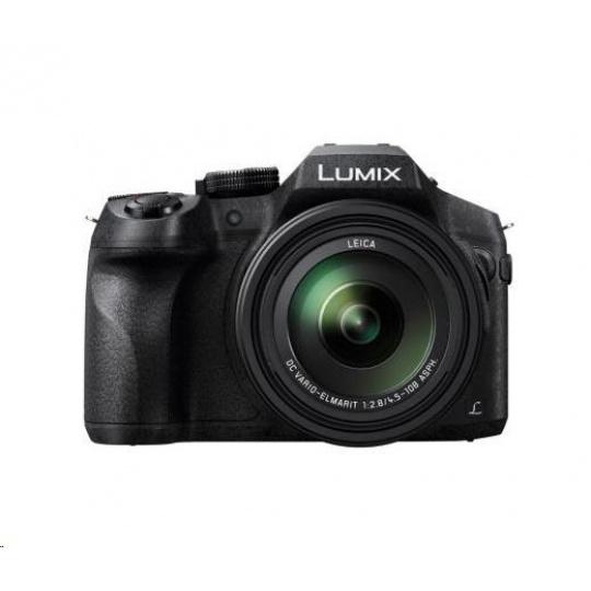 "Panasonic DMC-FZ300 (12 Mpx MOS, 24x zoom LEICA F2.8, 4K, 3"" LCD + LVF, RAW, Wi-Fi)"