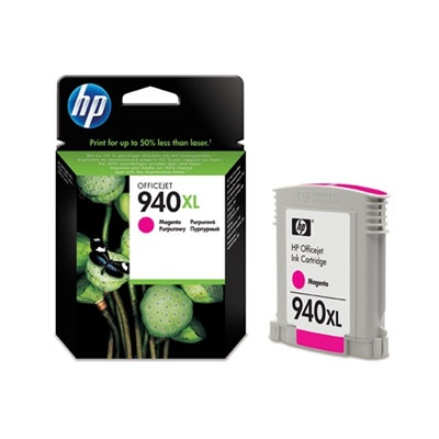 HP 940XL Magenta Ink Cart, 16 ml, C4908AE